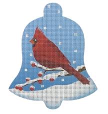 Cardinal Snow Bell - Male
