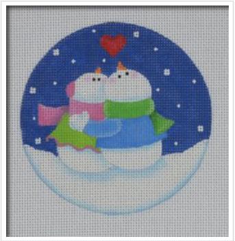 Gazing Snowman Coupler
