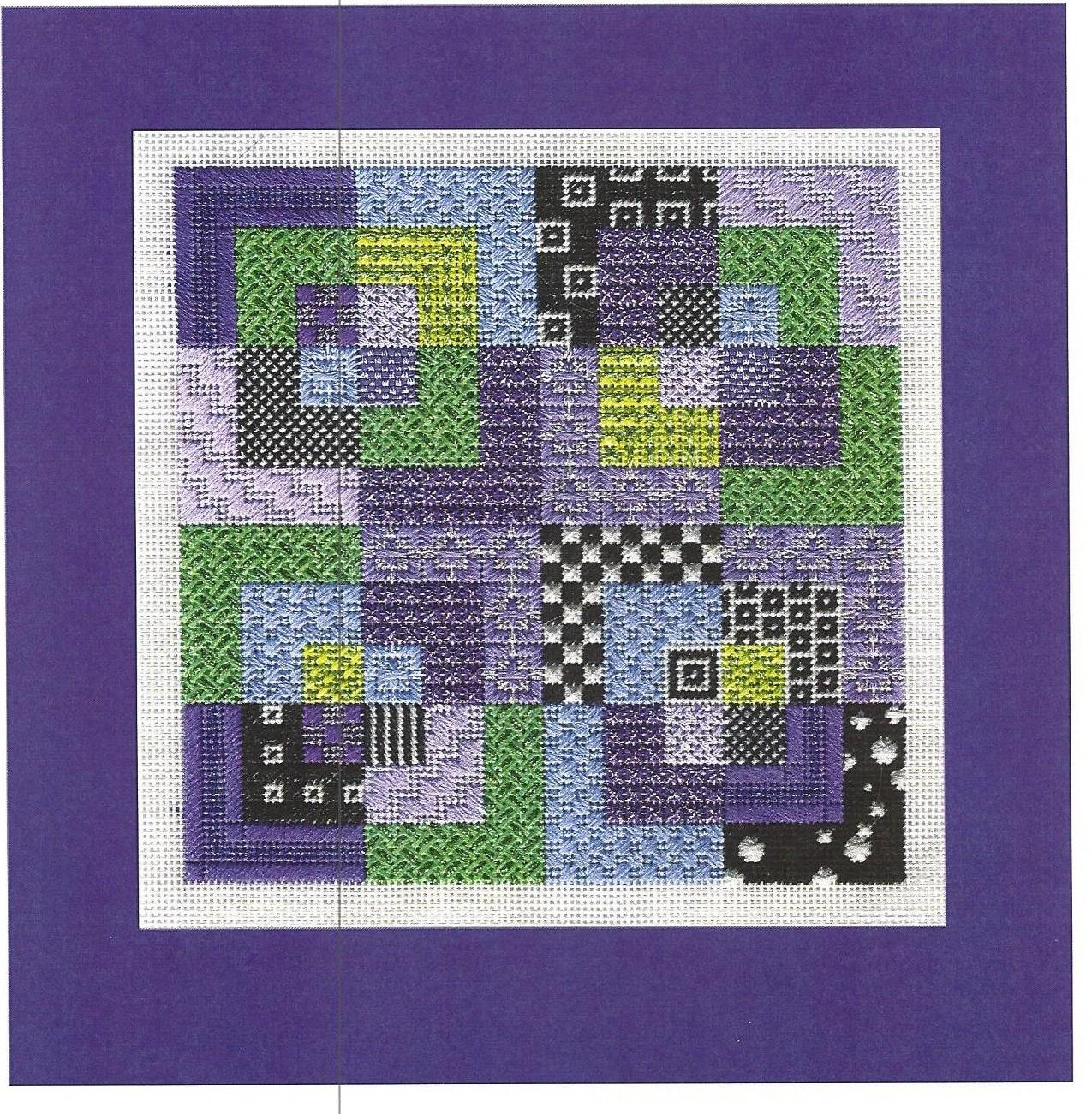 Alpine Puzzle   (design size 108x108 - 6x6 on 18ct)