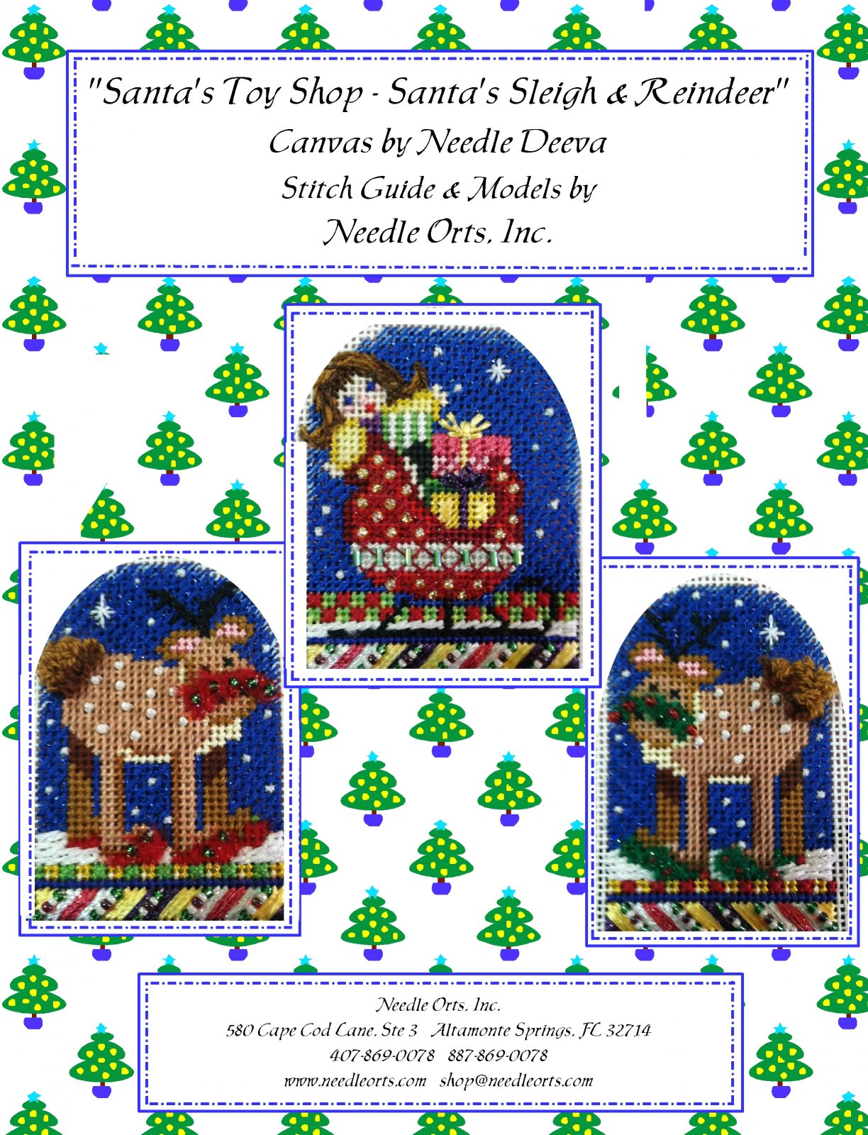 Stitch Guide - Santa's Toy Shop:  The Reindeer