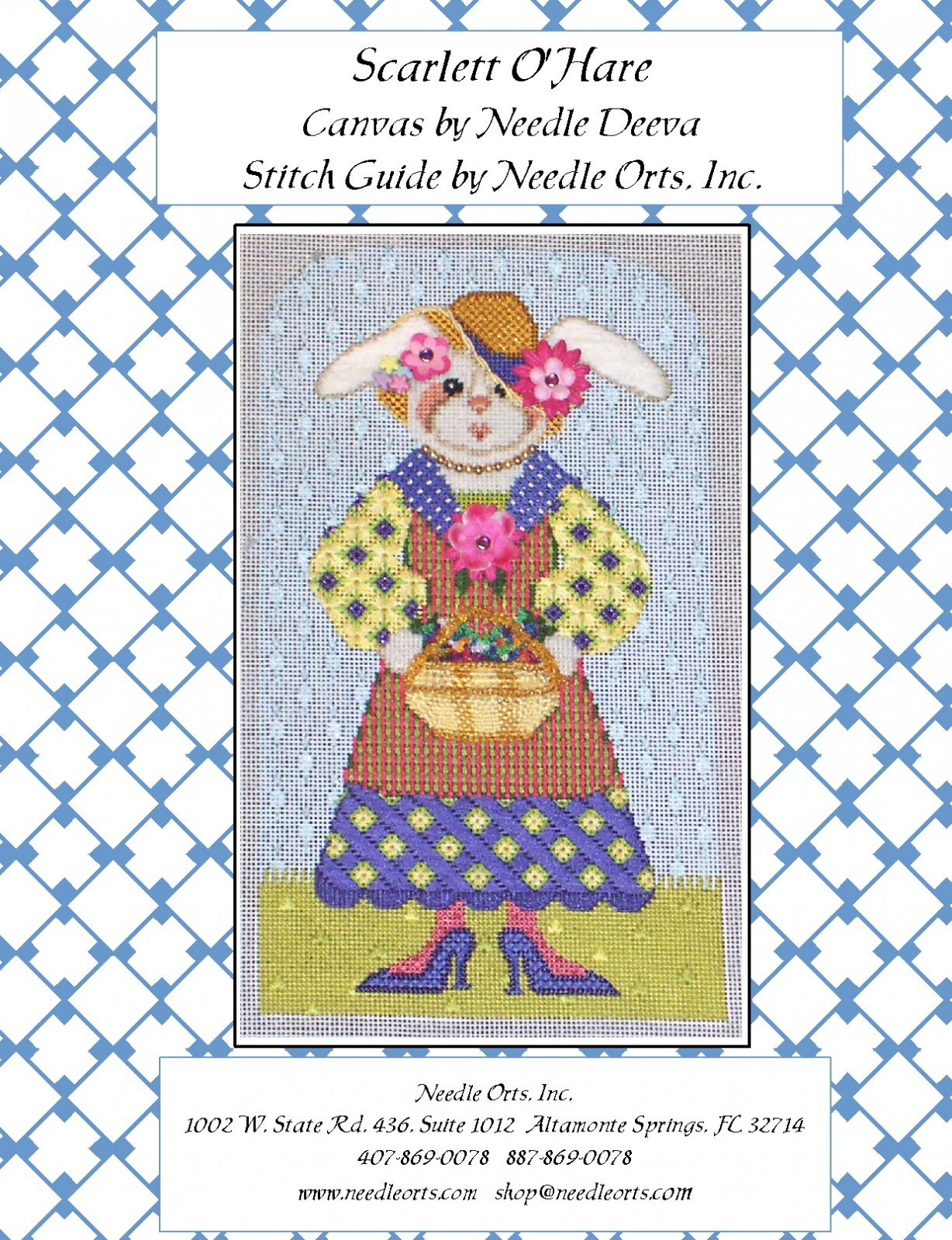 Stitch Guide - Scarlett O'Hare