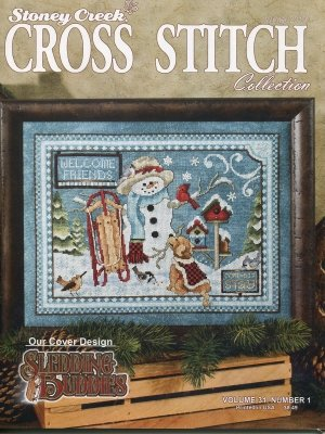 Stoney Creek Cross Stitch - Winter 2019
