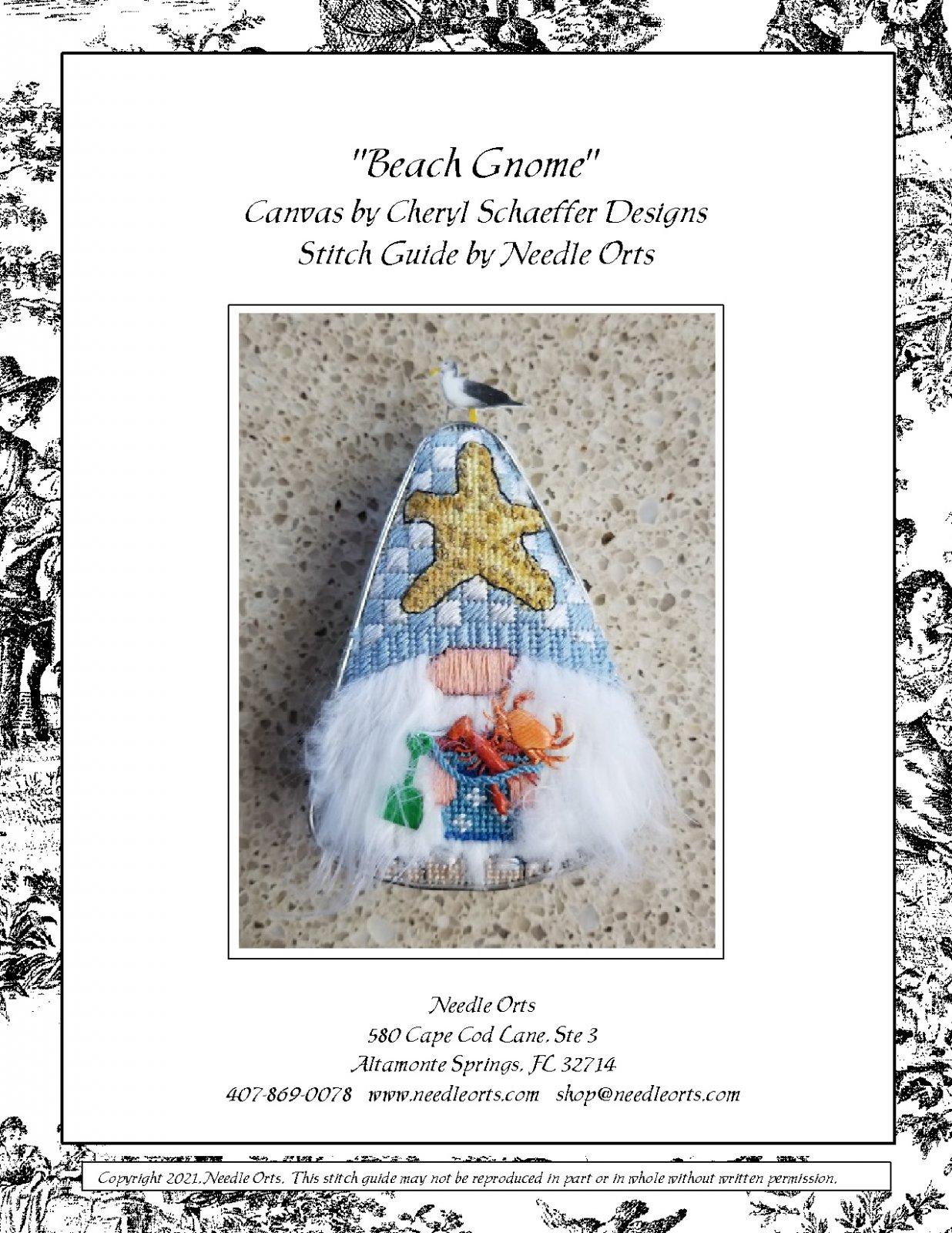 Stitch Guide - Beach Gnome