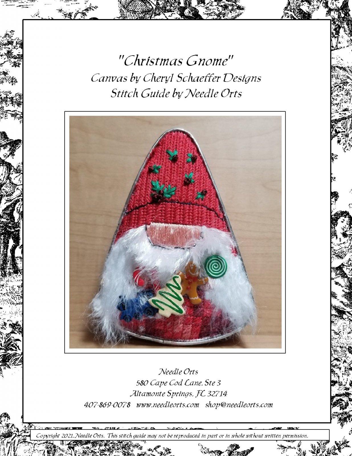 Stitch Guide - Christmas Gnome