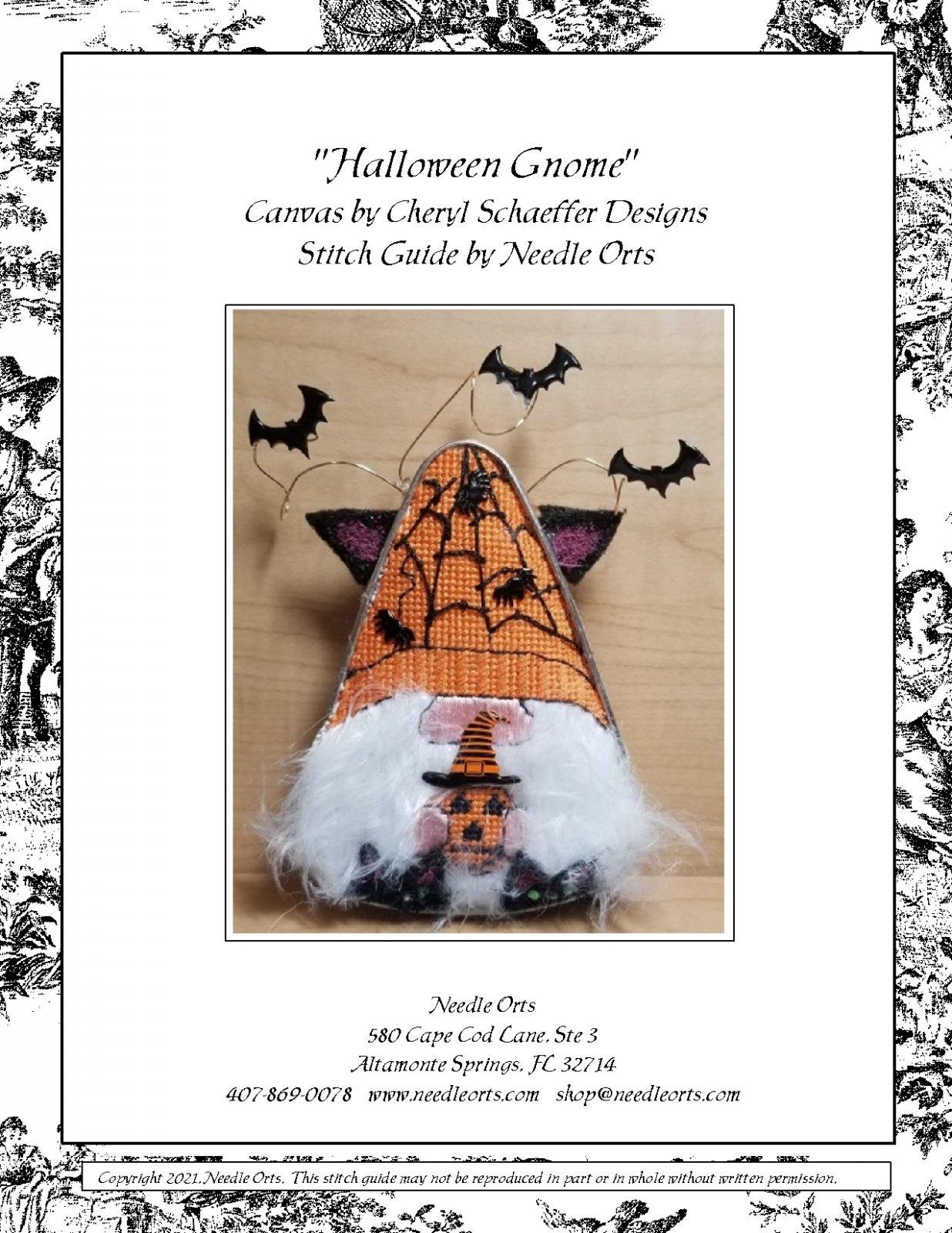 Stitch Guide - Halloween Gnome