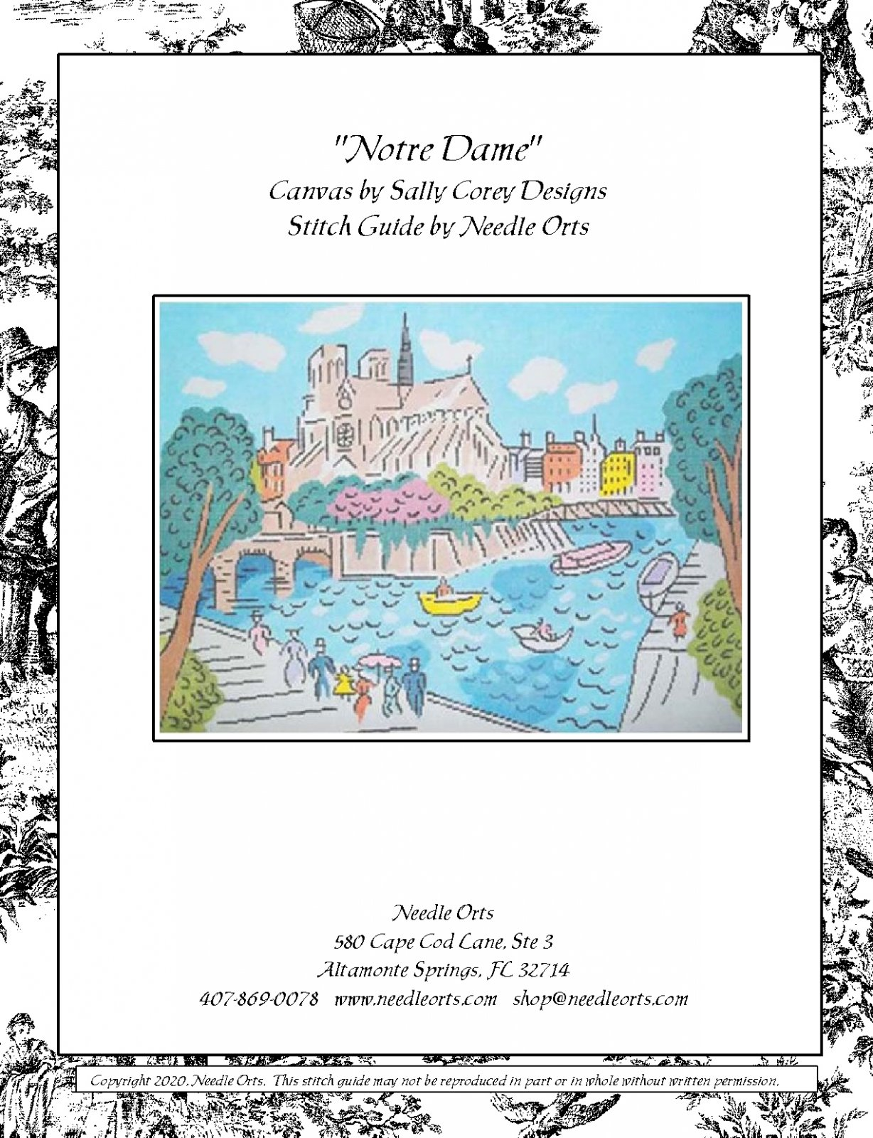 Stitch Guide - Notre Dame Cathedral