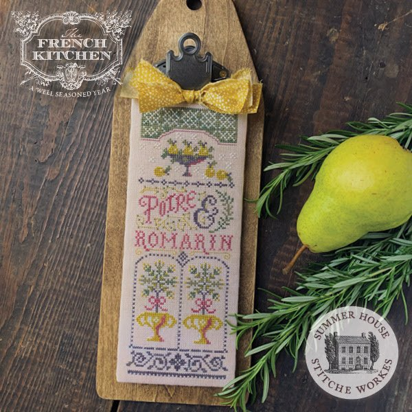 Le French Kitchen #2 - Pear & Rosemary