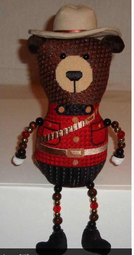 Smokey the Bear w/ SG