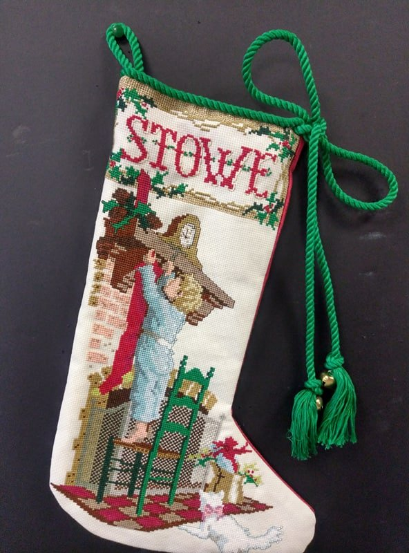Stowe 's Stocking - Stitched by Meg G.