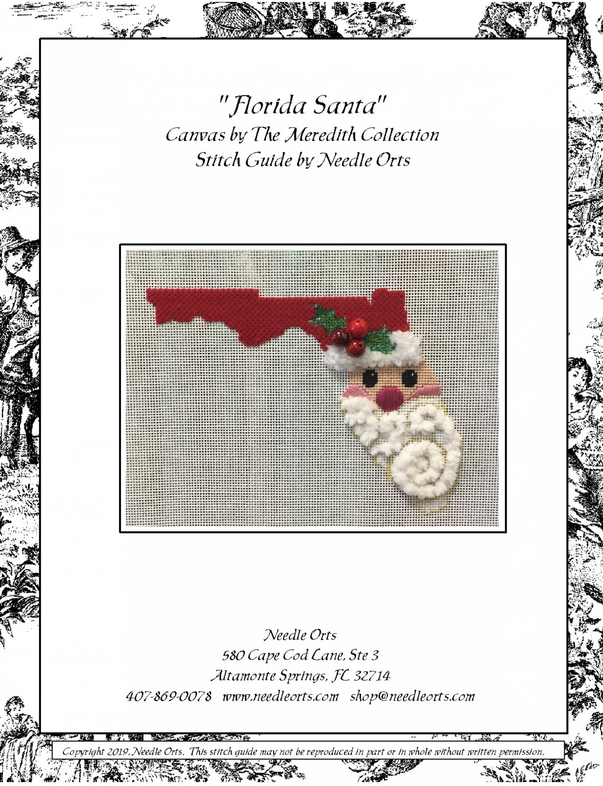 Florida Santa Stitch Guide