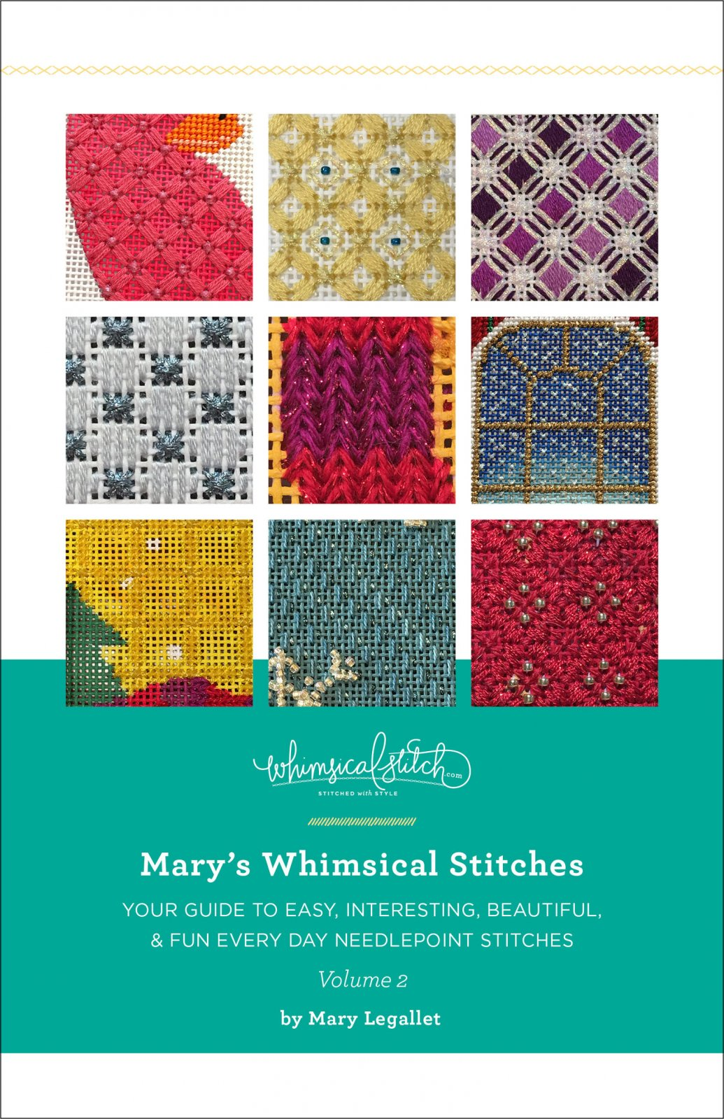 PRE-ORDER - Mary's Whimsical Stitches  Volume 2