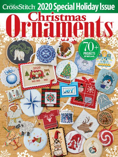 Just Cross Stitch - Christmas Ornament Issue 2020