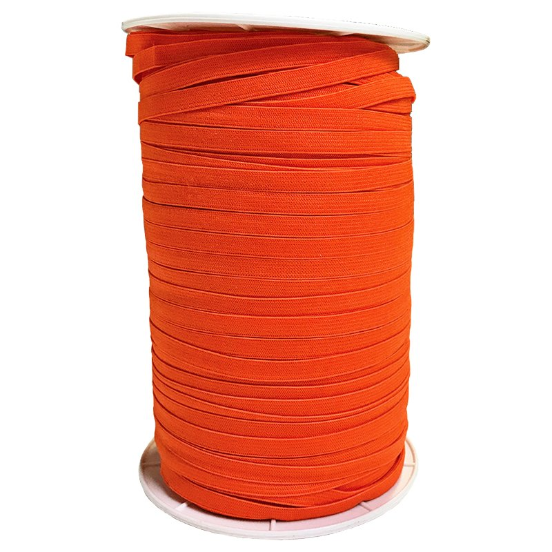 1/4 Soft Elastic Autumn Orange