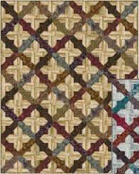 Rustic Tiling- Wood Color Version