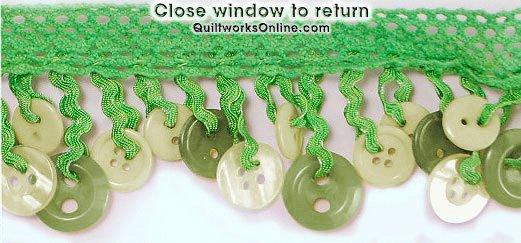 2 Button Fringe Lime