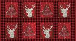 Hearthside Holiday Brushed Panel Blocks