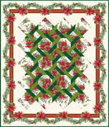 The Winter Twist Quilt 2  58 x 68  Pattern Included