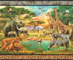 Picture This Panel Wild Life