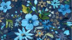 Blue Crush Night Garden