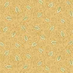 Butter Churn Basics Tan Leaf/Vine
