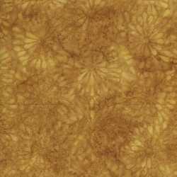 Island Batik Round Petal Floral