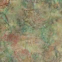Island Batik Swirl Leaf- Opal