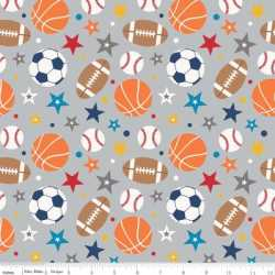 Play Ball 2 Main Gray Flannel