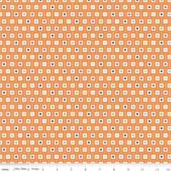 Playball Geo Orange Flannel