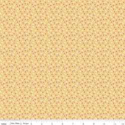 Vintage Happy 2 Tiny Squares Honey