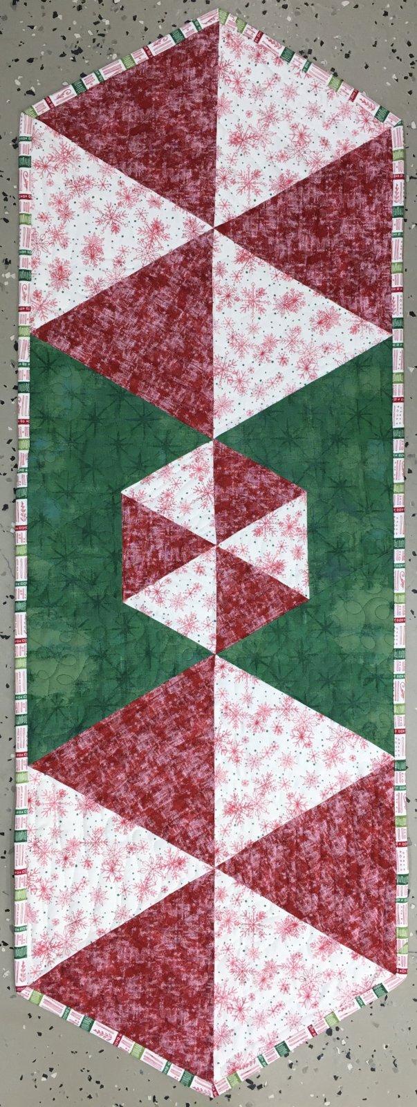 Peppermints Table Runner 15 x 45