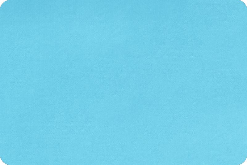 Cuddle 90 inch Wide Turquoise Plain