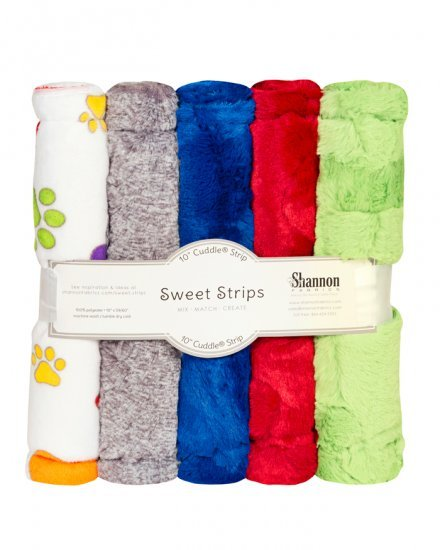5 Pack of 10 Cuddle Strips- Rainbow