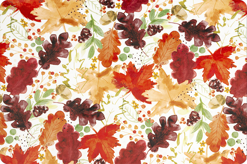 Autumn Leaves Digital Cuddle Harvest