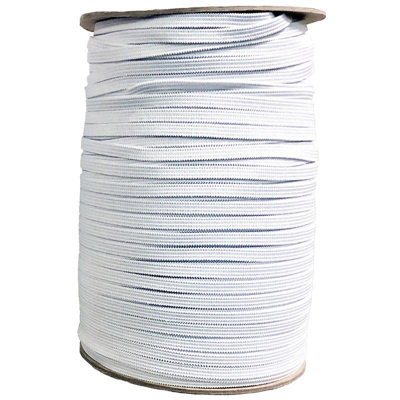1/4 Soft Elastic White - 50 yd. pack