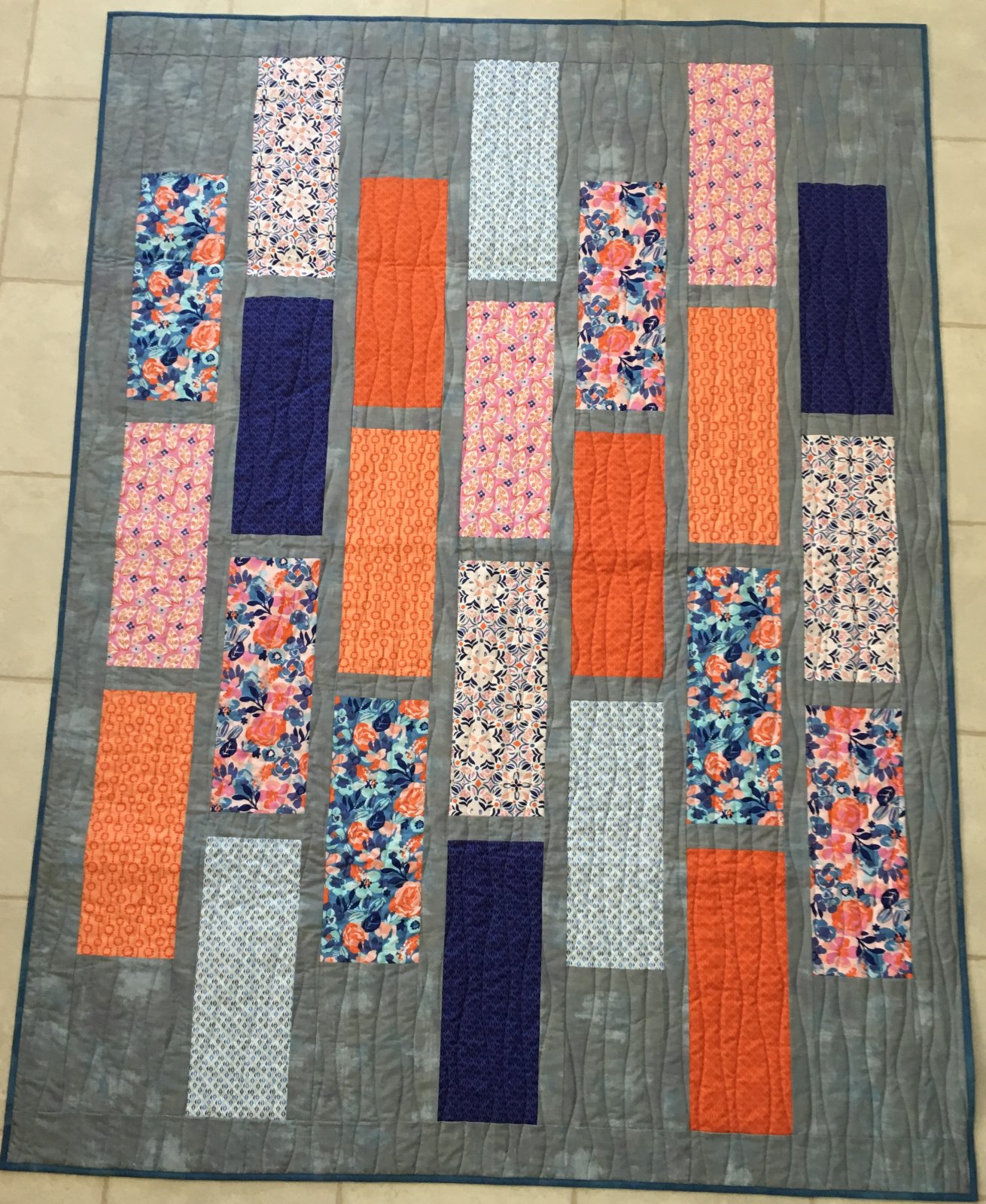 Claudette Voyage  57 x 75  Pattern Included