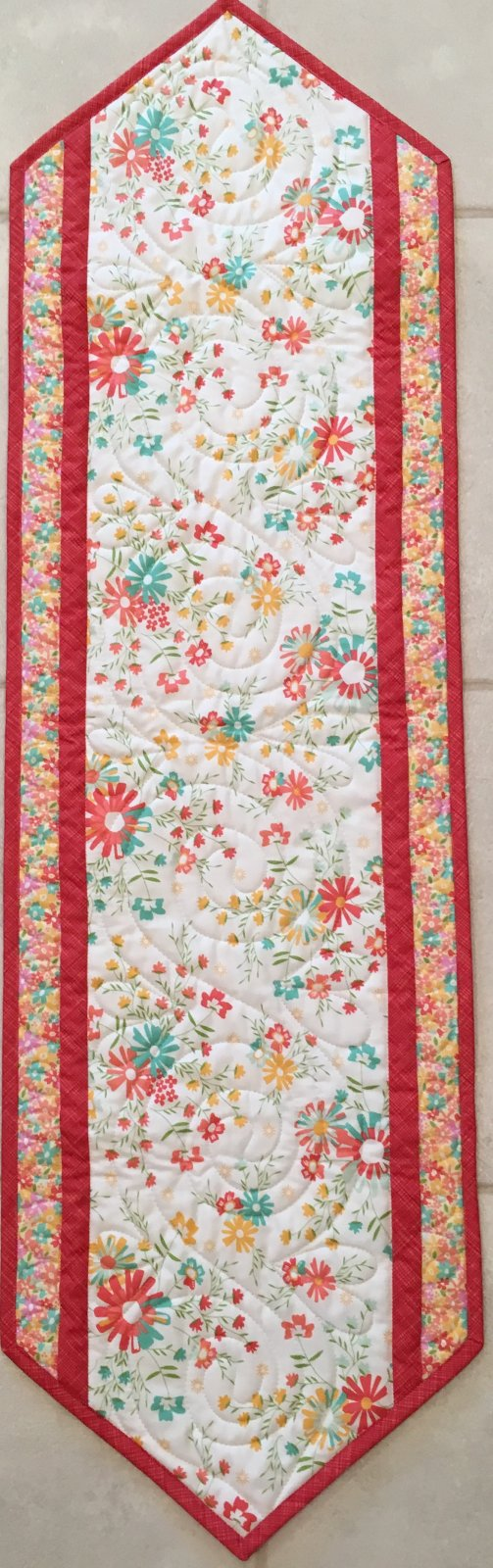 The Big Easy  12 1/2 x 40  Pattern & Backing Included