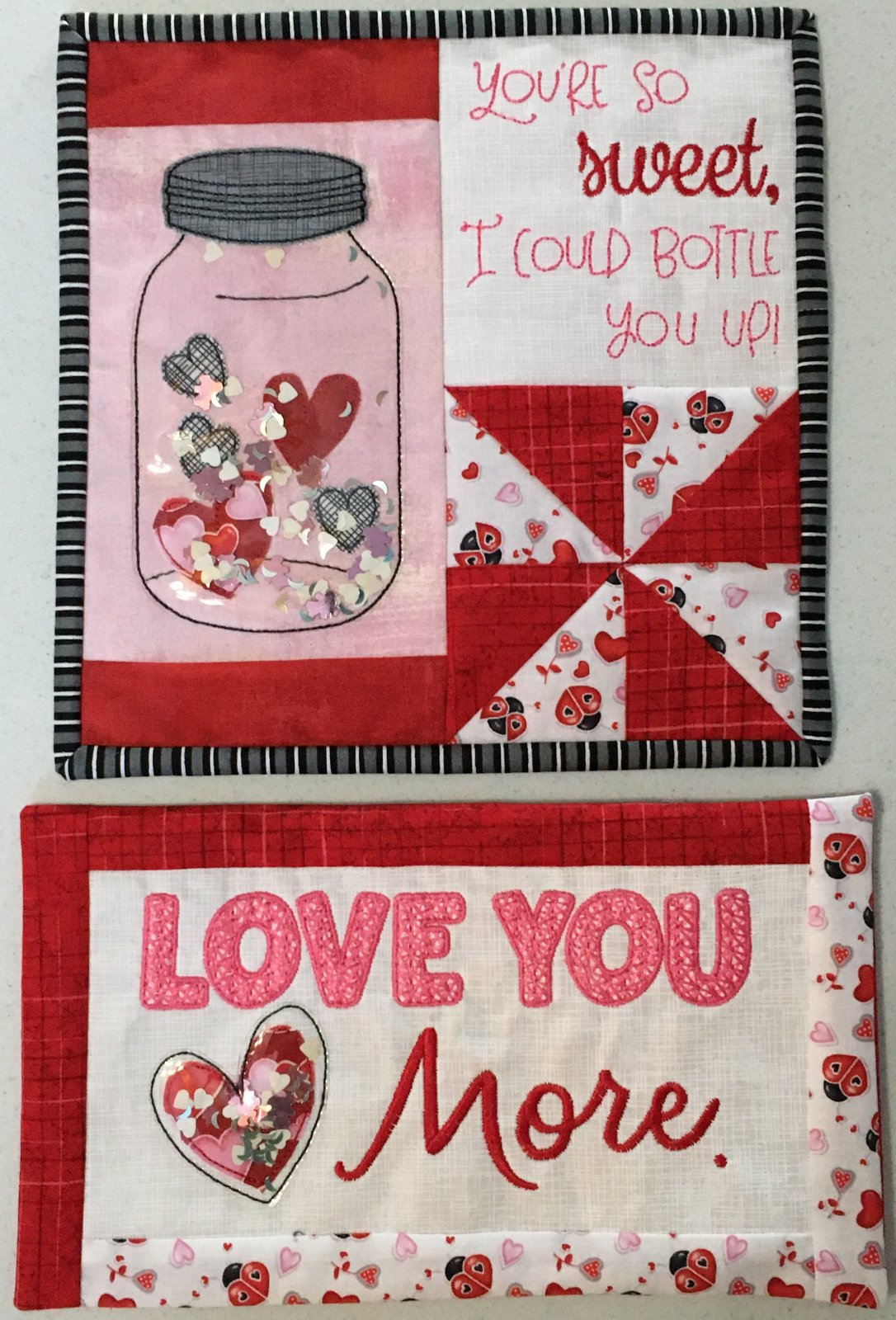 February Bench Buddies Fabric Kit