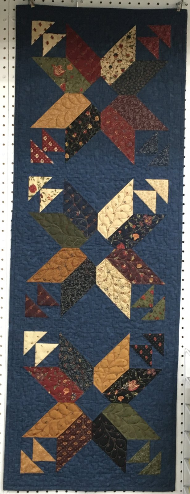 Stellar  18 x 51  From the Trendy Table 2 Book by Anka's Treasures