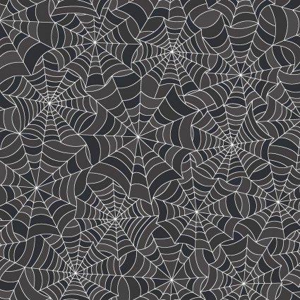 Hometown Halloween Grey Spiderwebs