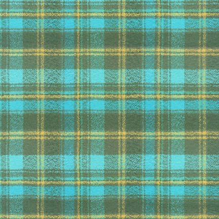 Mammoth Flannel Wide Lagoon 59 wide