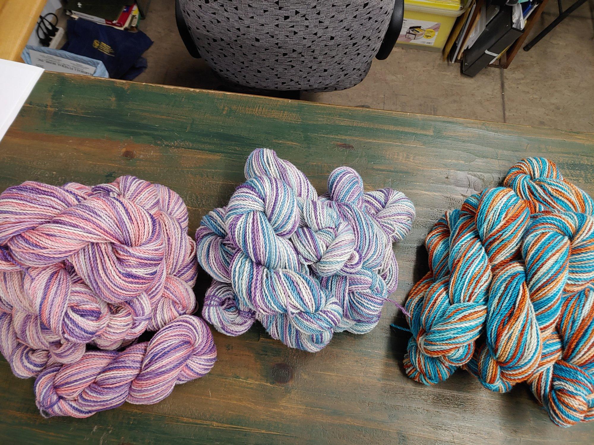 DK Weight Yarn Alpaca/Tencel or Bamboo Blend