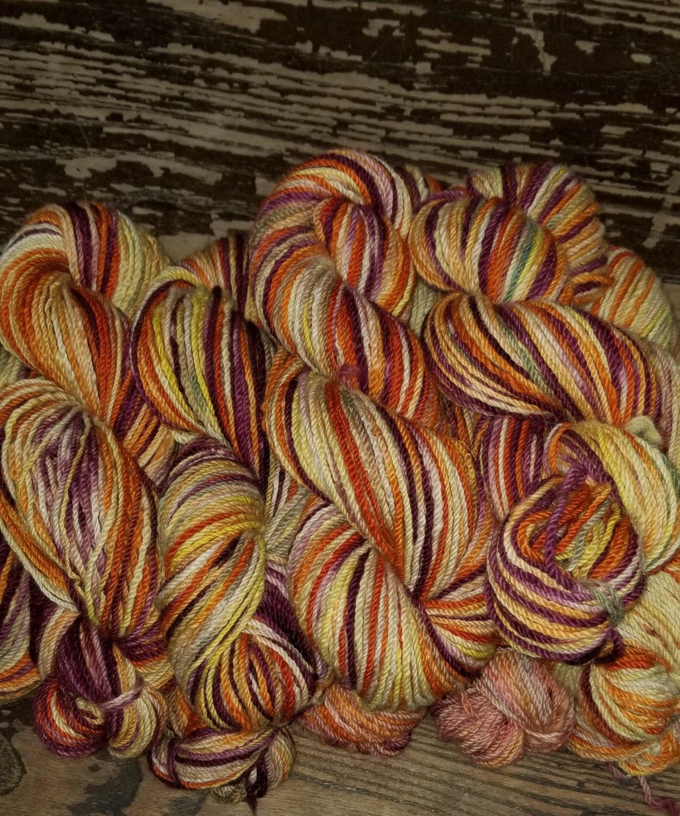 DK Weight Yarn - Dyed