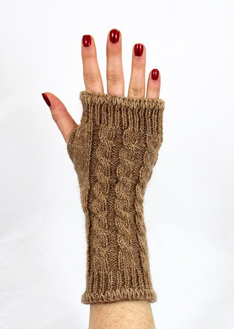 Wrist Warmer--Cable