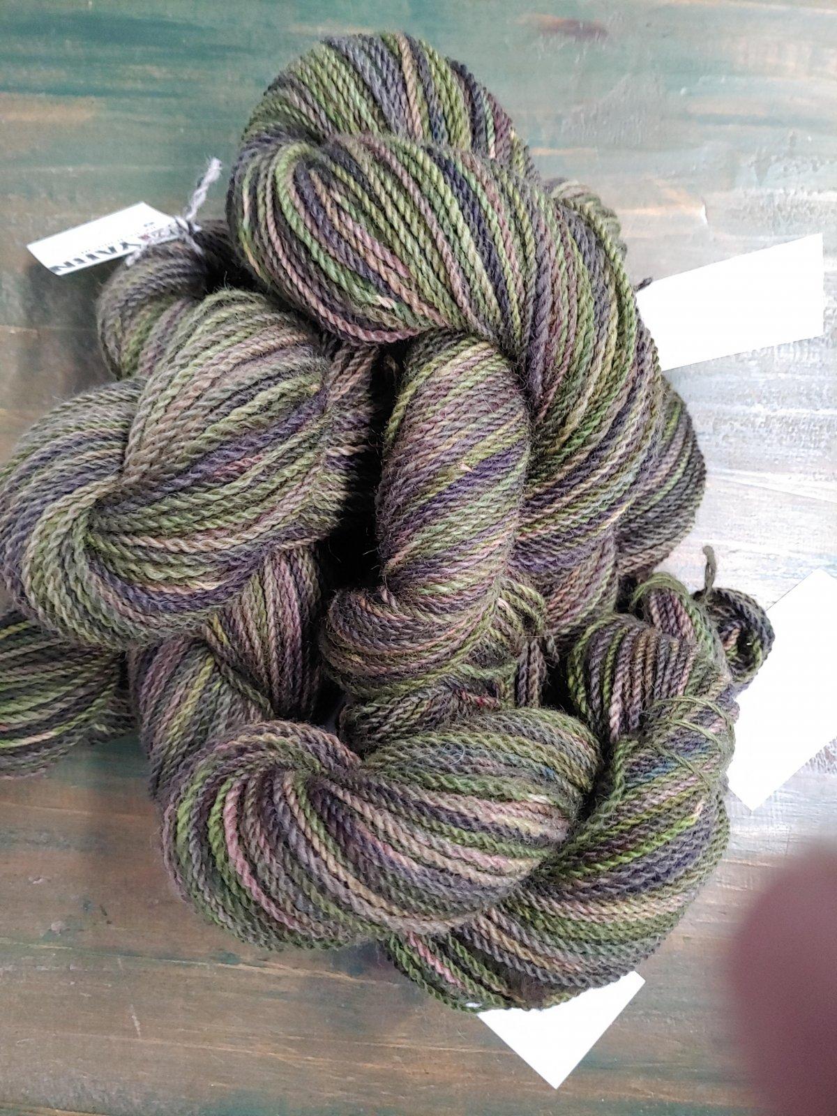 DK Weight Yarn 100% Alpaca Dyed Colors