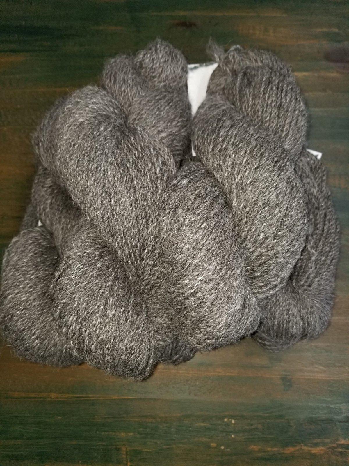 DK Weight Grey Alpaca Tencel