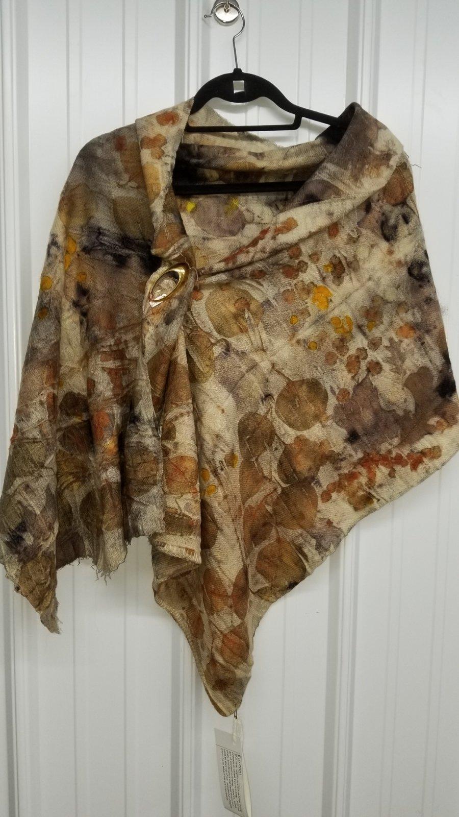 Eco Print Blanket Wrap