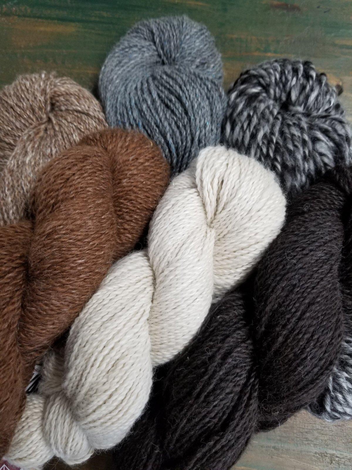DK Weight Yarn 100% Alpaca Natural Colors