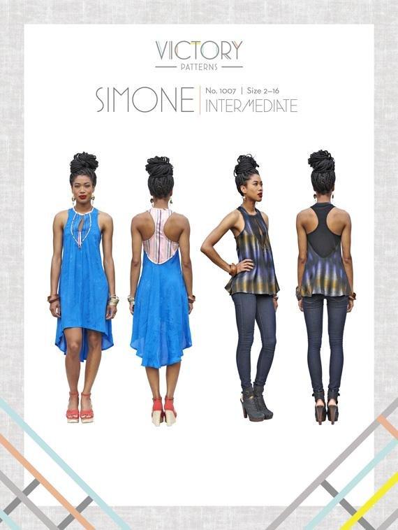 Simone Dress & Top Pattern