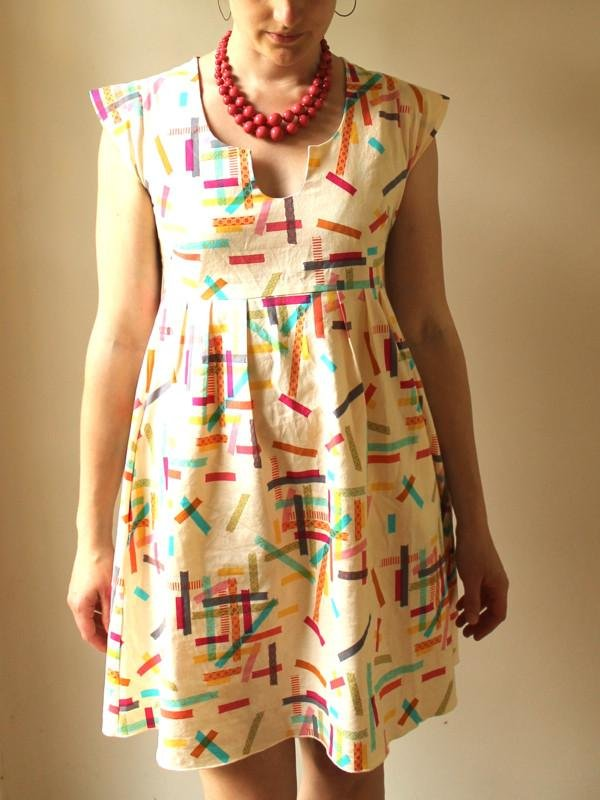 Made by Rae Washi Dress Sewing Pattern