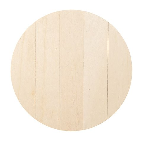 Unfinished Wood Circle 12 inch